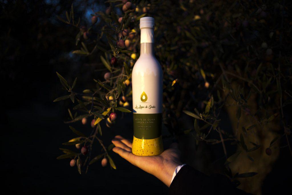 Botella Aceite Los Llanos de Gredos