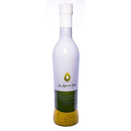 Aceite de oliva virgen extra premium botella de 500ml Los Llanos de Gredos