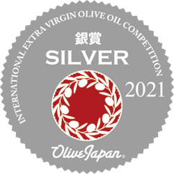 International Extra Virgin Olive Oil Competition. Japan 2021. Silver.